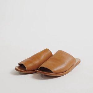 St.Agni Leather Slides